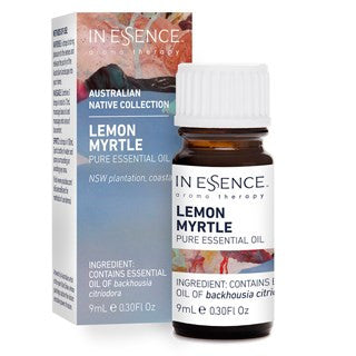 In Essence Lemon Myrtle Australian Native Collection Pure Essential Oil, 9mL