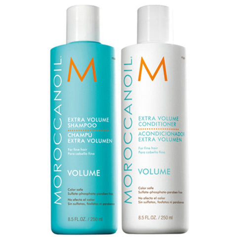 Moroccanoil Extra Volume Shampoo And Conditioner Duo