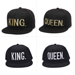 King and Queen Couple Hats - FANATICS365
