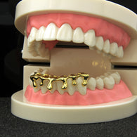 *50% OFF* - BEST SELLR! Drip Grillz 14K GP Bottom Grillz - FANATICS365