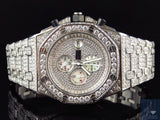 Iced Mens Jewelry Unlimited Jojino Joe Rodeo Simulated Diamond Watch 43MM - FANATICS365