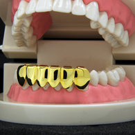 **50% OFF**  Best Seller SALE! 14k GP Bottom Grillz - FANATICS365