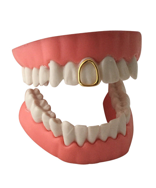 Open Face Grillz Grill 14K GP Single Tooth Cap w/Mold Kit - FANATICS365