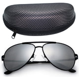 Aviator Polarized Mirror Lens Sunglasses - FANATICS365