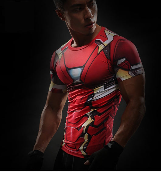 IRON MAN COMPRESSION SHIRT - FANATICS365