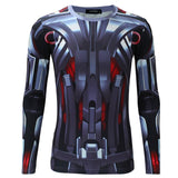 ULTRON LONG SLEEVE COMPRESSION SHIRT - FANATICS365