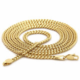 "14k GP Hip Hop Retro 11 ""Concord"" Pendant 4mm 24"" Rope Chain - FANATICS365"