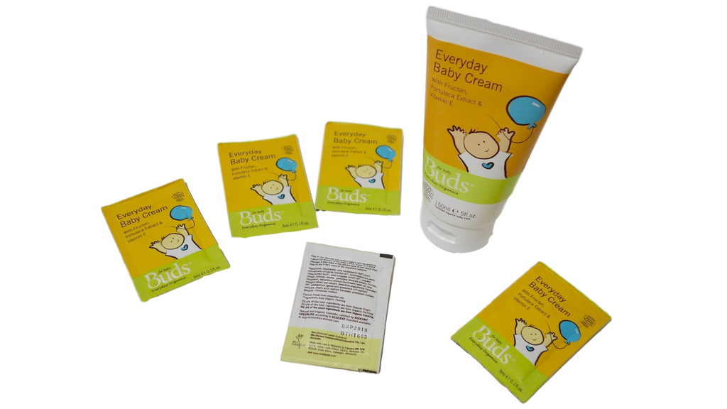 Receive a FREE Sample of Buds Oralcare Organic toothpaste