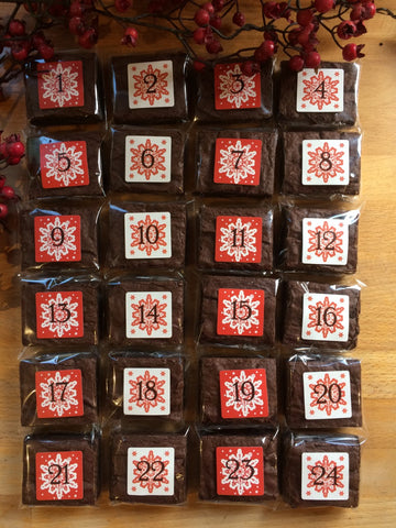 Brownie Advent Calendar - Limited Edition