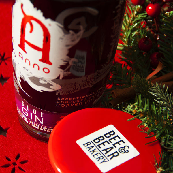 Anno Sloe Gin Christmas Pudding