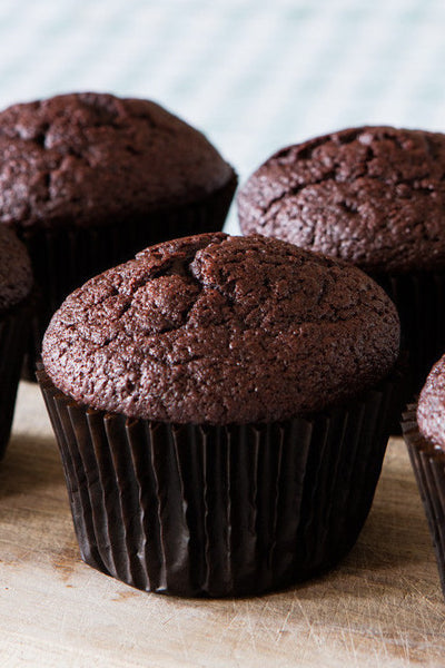 Chocolate & beetroot muffin