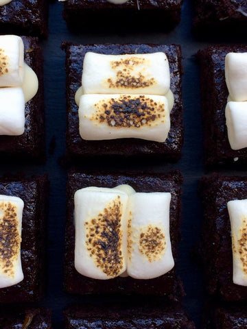 Toasted Marshmallow Brownie