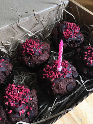 Chocolate Chip Muffin Birthday Box