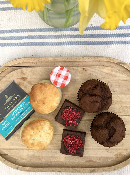 Vegan Afternoon Tea in a Box