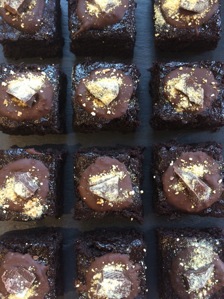 Vegan Chocolate Orange Brownies