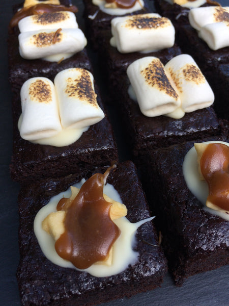 Vegan Bonfire Brownie Box