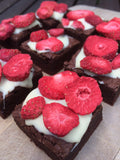 Strawberries & Cream Brownie