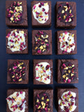 Rose & Pistachio Brownie