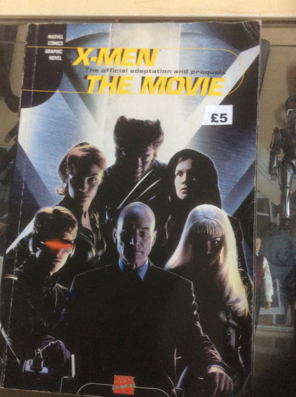 X-Men the movie graphic novel