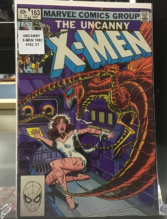 The Uncanny X-Men comics 1982-1983