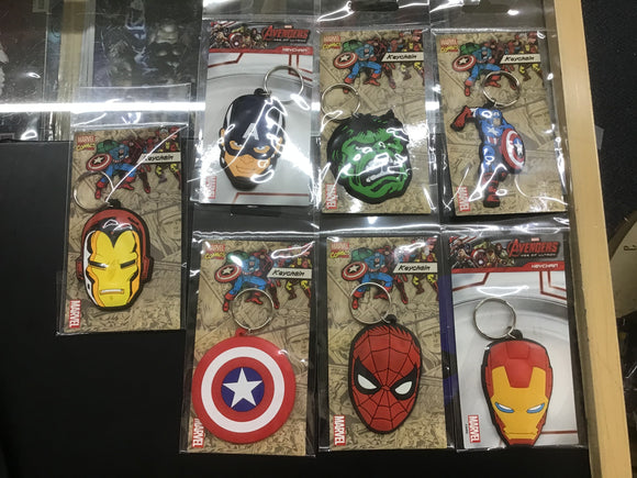 Marvel key rings 3 for £10