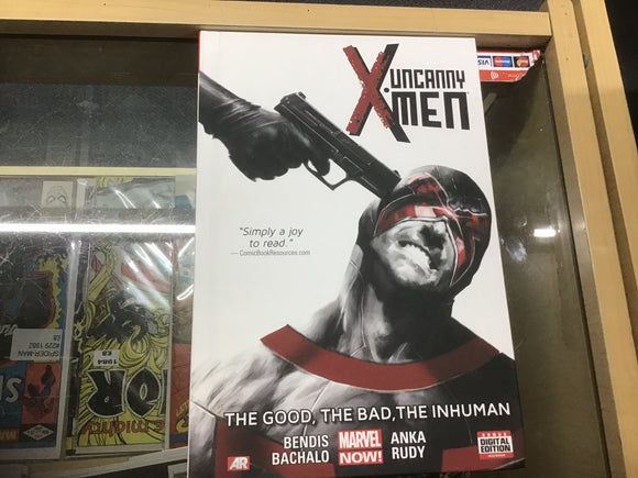 Uncanny X-Men The good the bad graphic novel