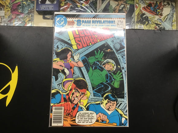Legion of Super Heroes #267 comic