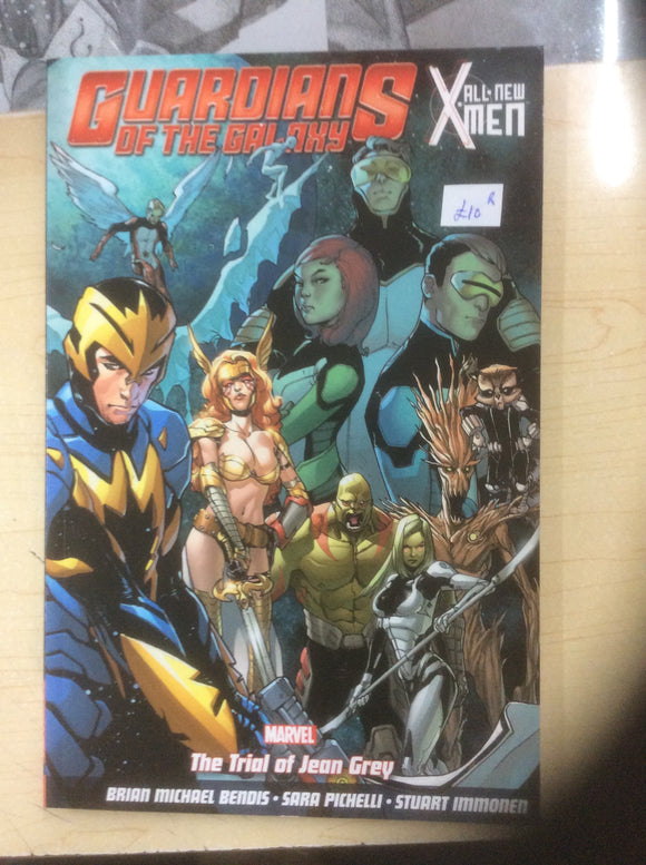 Guardians of the galaxy graphic novels Preowned lots to choose from