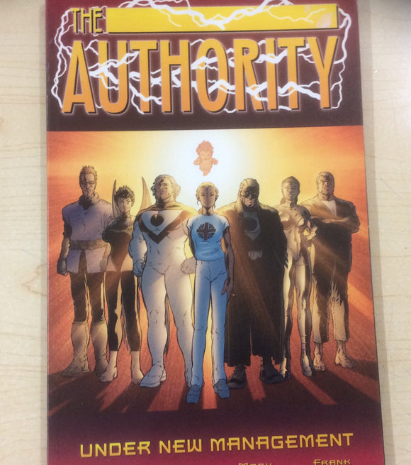 The Authority graphic novels 4 to choose from