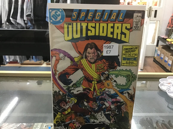 The Outsiders 1987 DC comic