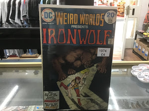 Weird worlds presents Ironwolf #9 1974 comic