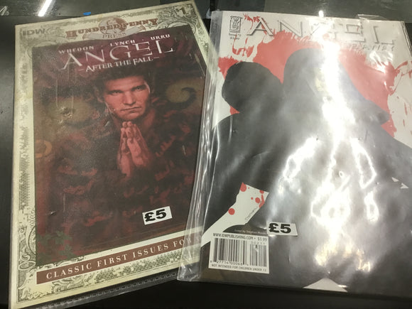 Angel comic book bundle
