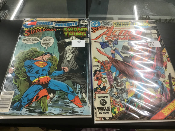 Superman comics 1979-83