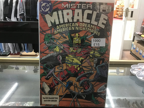 Mister Miracle #1 1989 comic