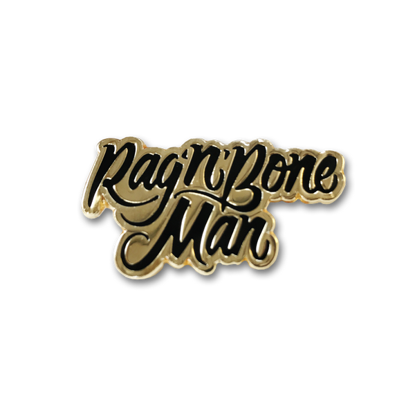 Rag 'n' Bone Man Enamel Pin Badge