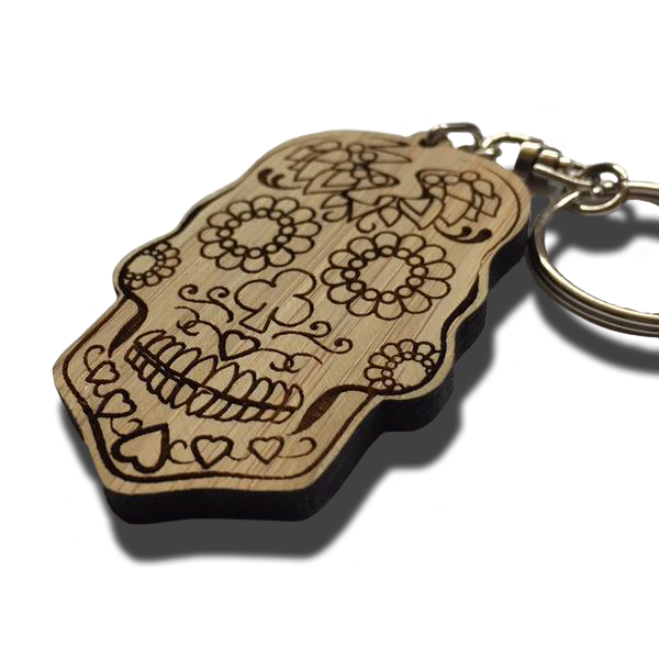 Bamboo Laser Cut Keyring | Home Page | Rag'n'Bone Man | Official Store