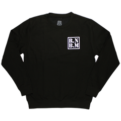 RNBM SUGAR SKULL BLACK SWEATSHIRT