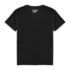 MICROPHONE MENS BLACK T-SHIRT