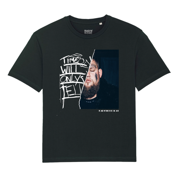 RAG N BONE MAN ALBUM LYRIC BLACK T-SHIRT