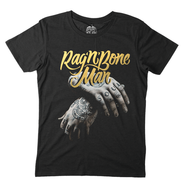 Gold Foil Logo Hands T-Shirt
