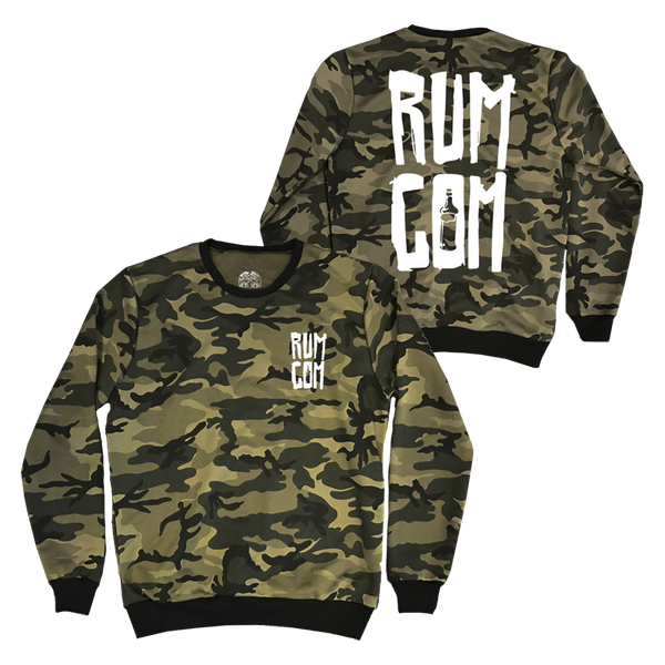 RUM COMMITTEE CAMO SWEATER