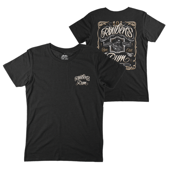 ROUBENS RUM BLACK T-SHIRT