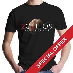 Celloverse 2016 Tour Black T-Shirt