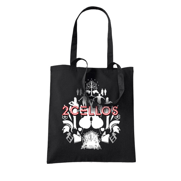 SCORE BLACK TOTE BAG