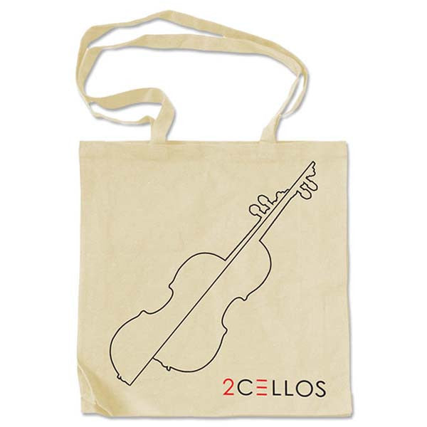 SPLIT CELLO TOTE BAG