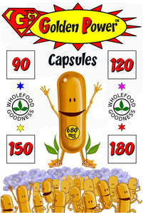 GG GOLDEN POWER™ CAPSULES Top Turmeric supplement