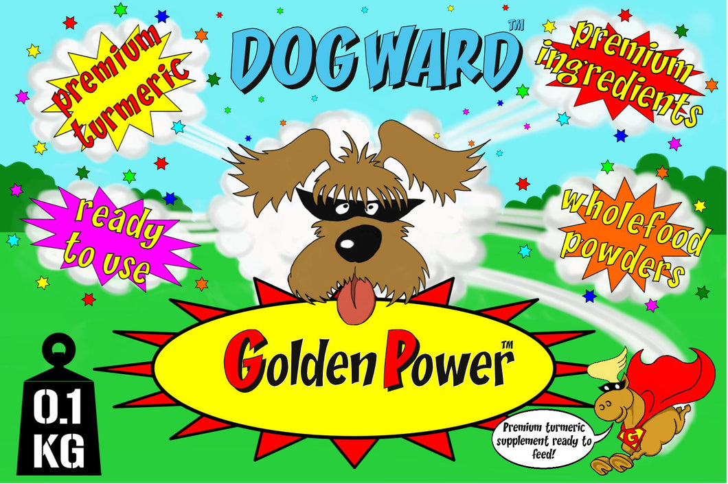 GG GOLDEN POWER™ FOR DOGS - High strength turmeric supplement, ready to feed