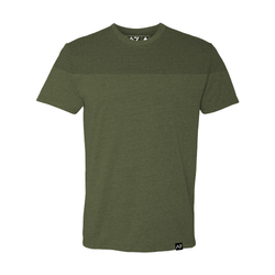 MEN`S FRONT SQUAT SHIRT - ARMY GREEN