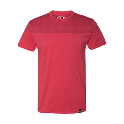 MEN`S FRONT SQUAT SHIRT - RED