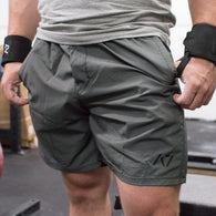 SQUAT SHORTS - FOLIAGE GREEN